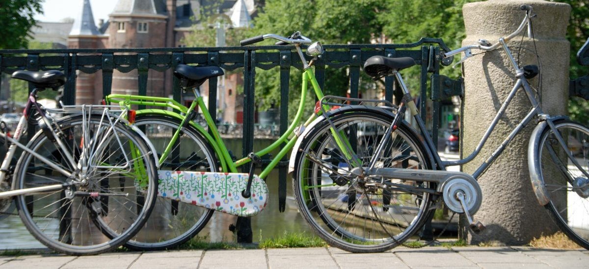 Fahrräder in Amsterdam - Foto: © Katharina Hansen-Gluschitz