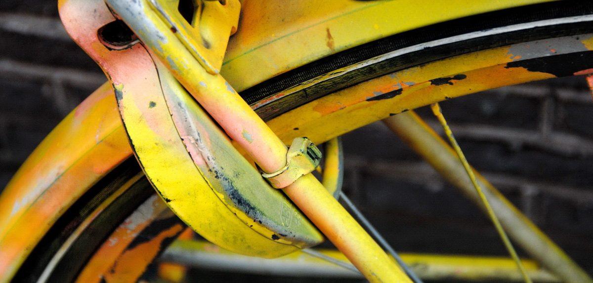 Gelbes Fahrrad Amsterdam - Foto: © Katharina Hansen-Gluschitz